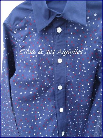 chemise boutons