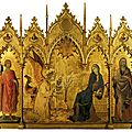 GOTHIQUE 1333_L'annonciation...Simone Martini-Lippo Memmi