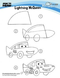 how_to_draw_lightning_McQueen