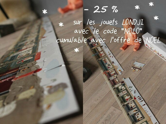 The longest puzzle Londji TRENDY LITTLE 1