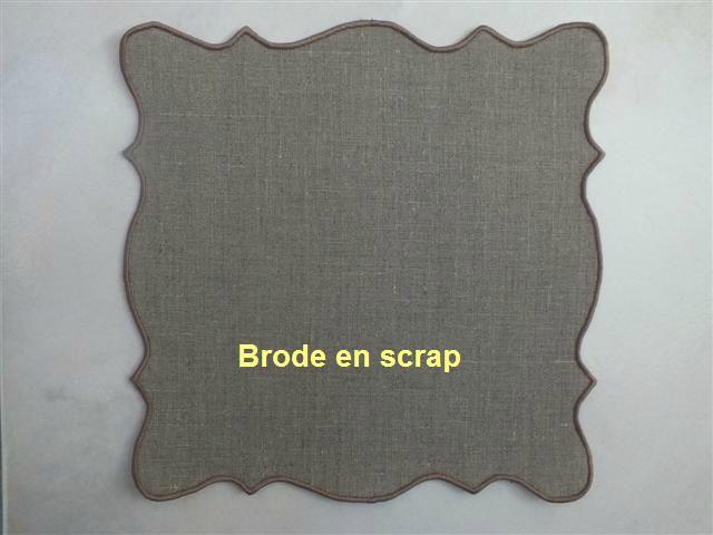 Extrem Des nouveautés dans la boutique brode en scrap - Brode en scrap LQ13