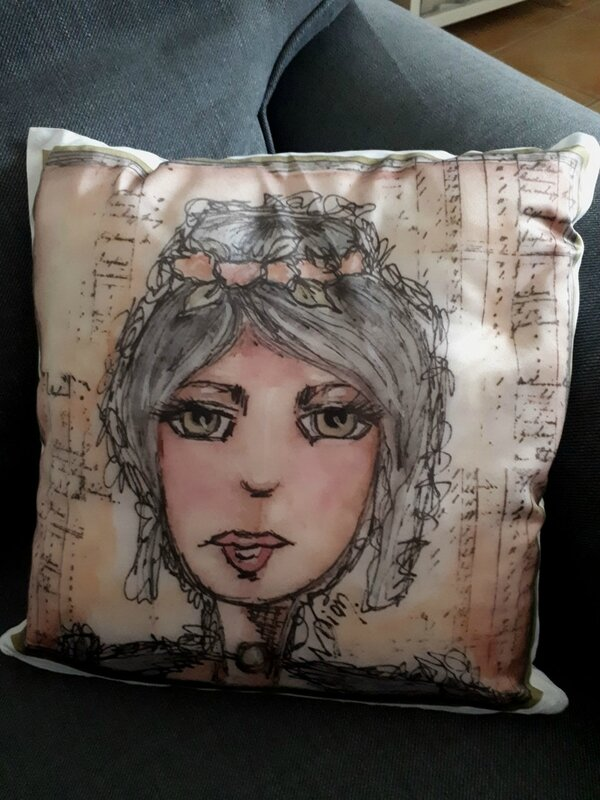 coussin clothilde