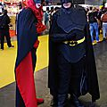 Cosplay Batwoman et Batman