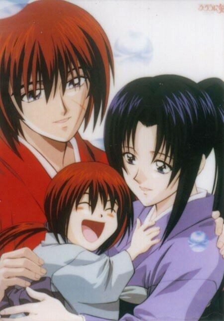 Kenshin,Kaoru%20e%20hijo