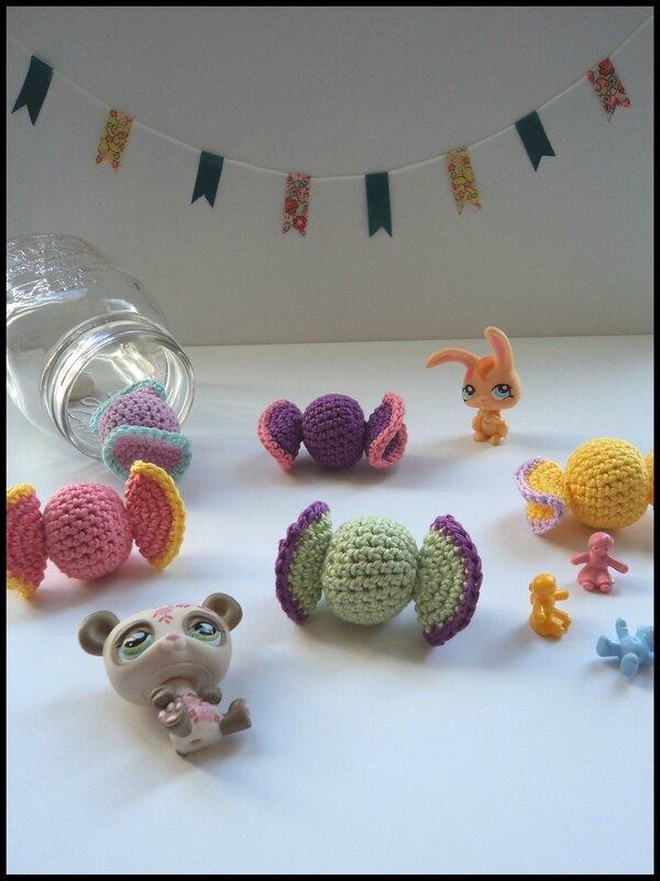 Bonbons au crochet Cam&Drey bricolent