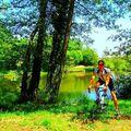 Circuit à vélo vers st-just - beauvoir de marc et
