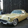 FORD Thunderbird 2door hardtop convertible 1957 Lipsheim (1)