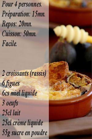 recette croissants aux figues