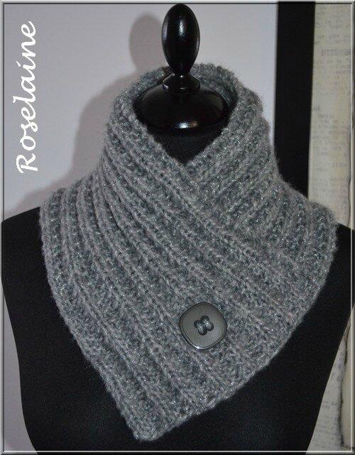 Favori Un chauffe-cou au tricot - Je tricote Tu crochètes HD03