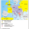 Carte de l'europe en 1914
