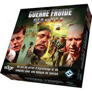 Boutique jeux de société - Pontivy - morbihan - ludis factory - guerre froide CIA KGB