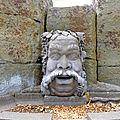Fontaine pour Bacchus à Châteaugay, oeuvre d'Yves Connier