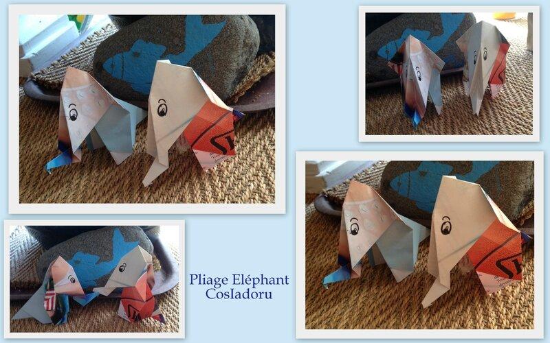pliage elephant4