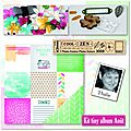 kit tiny album aout600