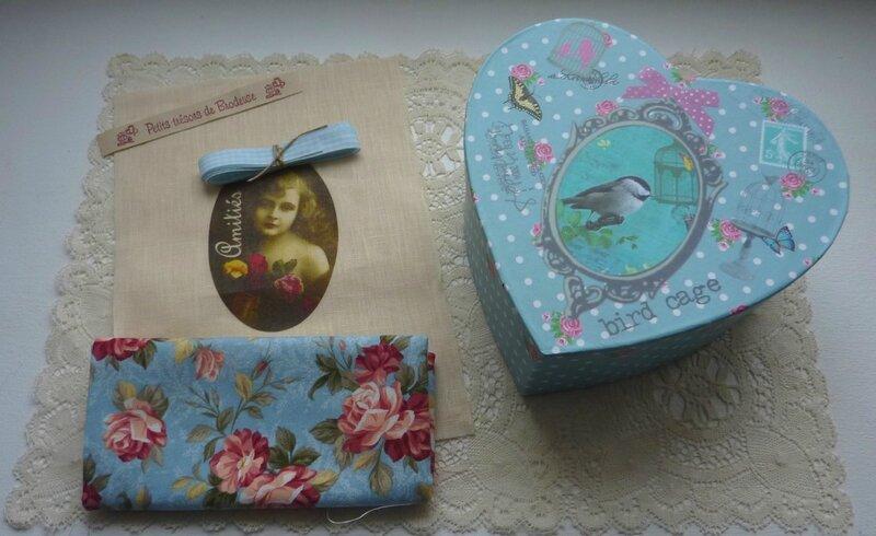 Kit couture et boite coeur