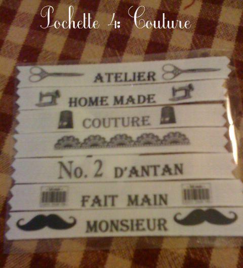 pochette 4 couture