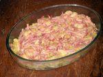 Pommes de terre à la boulangère jambon à braiser comté