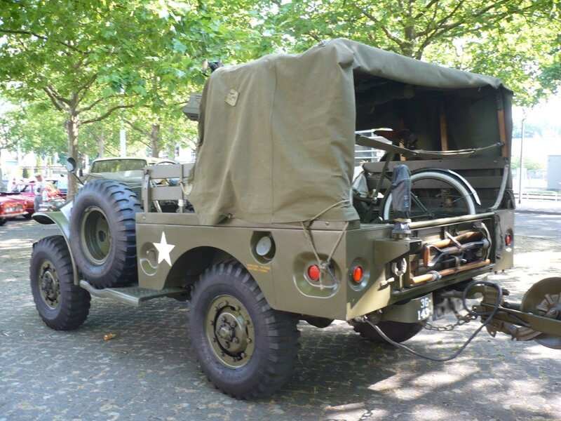 DODGE WC51 Weapons Carrier sans treuil 1944 Strasbourg (2)