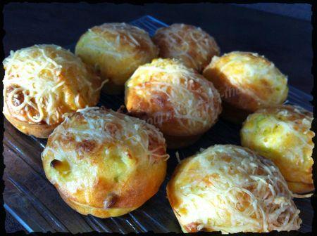 Muffins courgette lardon 13 juillet (1b)
