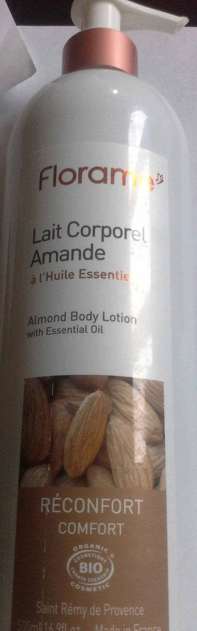 Lait corporel Amande aux huiles essentielles de Florame 11,75€ les 500ml le meilleur lait hydratant de ma vie!!!!!!