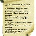 Les 10 comandements de l'insoumise