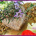 Rôti de porc, a la sauce moutarde, flageolets persillade, courgettes