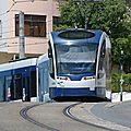 Lisbonne : les tramways du sud du tage