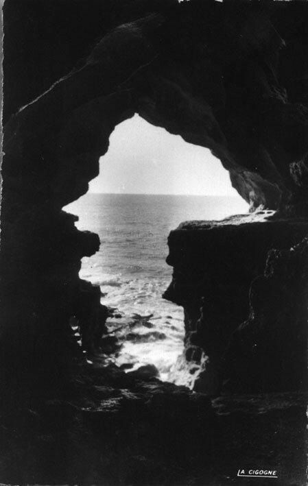 Les grottes d'Hércule au début du XXe siècle