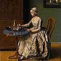 One of liotard's last oil paintings in private hands to be auctioned at sotheby's london
