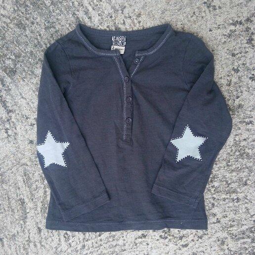 Tee-shirt étoiles, 2 ans
