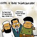 Egypte: morsi apprend tahrir