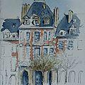 75-Paris-Place des Vosges