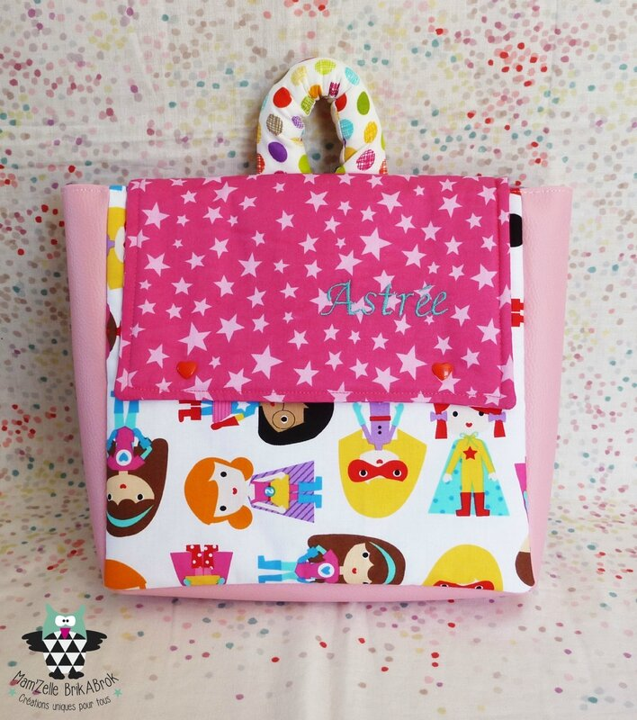 Sac Maternelle ASTREE recto