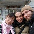 ...qui nous a aide a prendre nos billets pour le Tibet