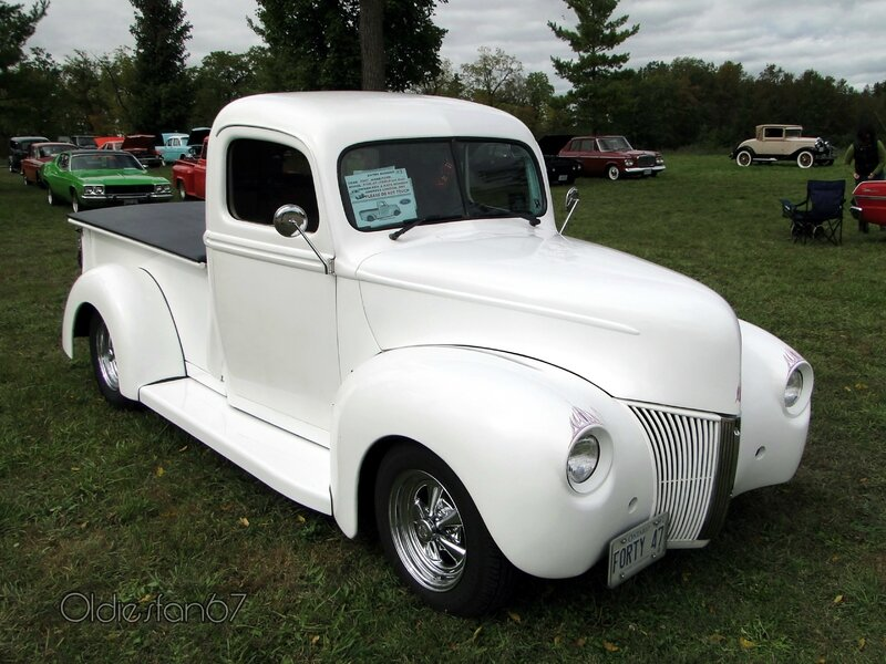 ford pickup 1947-front end 1940 a