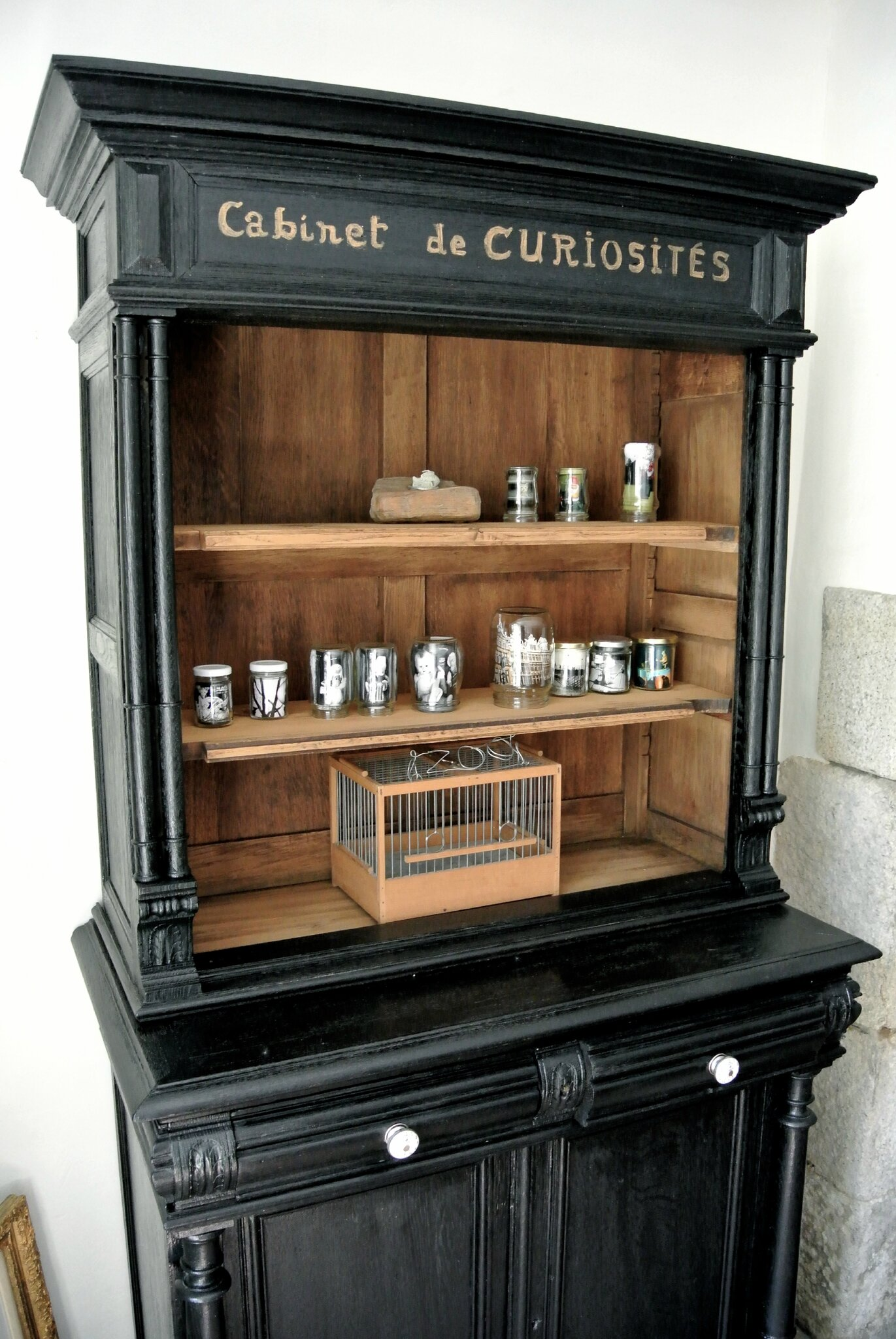 Cabinet de curiosit dr le meuble du photographe photo for Cabinet de curiosite meuble
