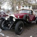 Bentley 3-litre boattail cabriolet 1928