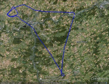 Navigation Andenne - Sovet 5-2-2012 1