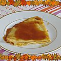 Crêpes suzette, version pascale