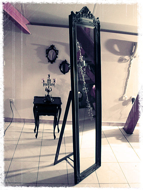 grand miroir baroque le bric brac. Black Bedroom Furniture Sets. Home Design Ideas