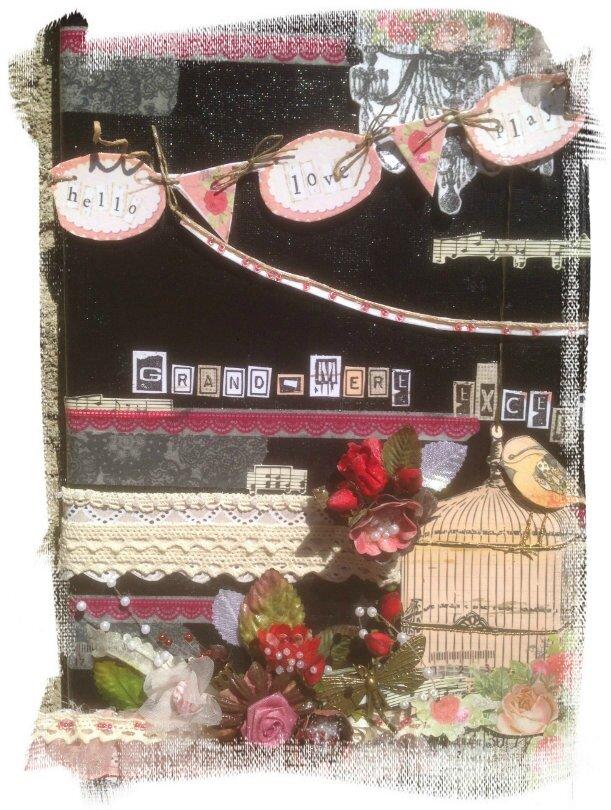 8-canvas fêtes des mères-framed