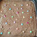 brownie smarties