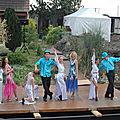 Ducasse de CH'BOUT avec la troupe Métronome 21 août 2011