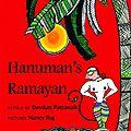Hanuman's Ramayana cover
