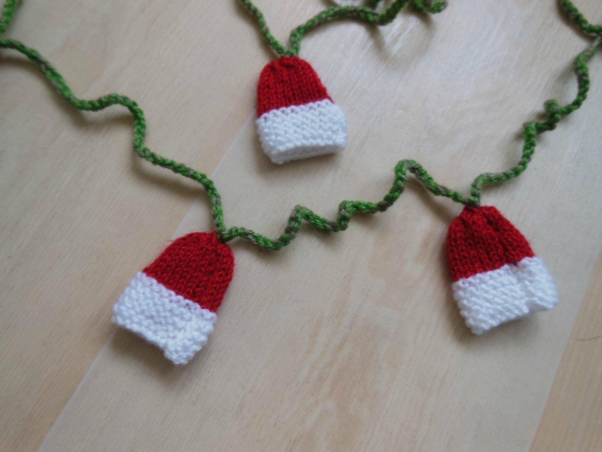 guirlande noel crochet