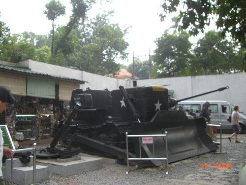 Saigon, mémorial de la guerre