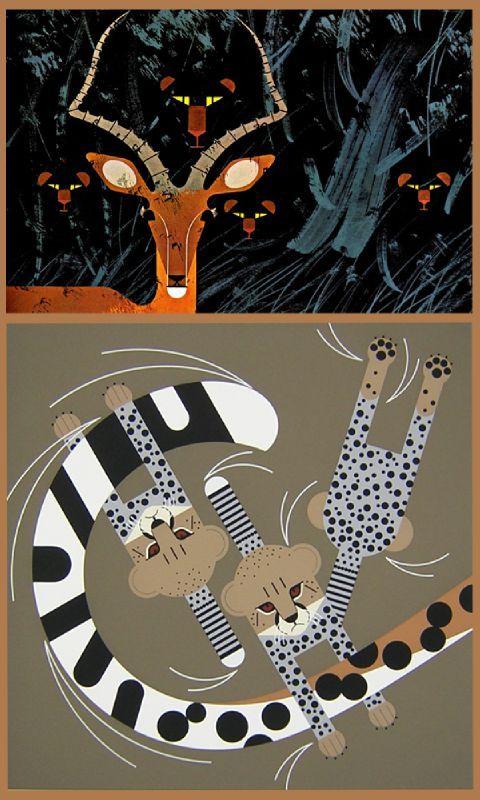 antilope-leopard