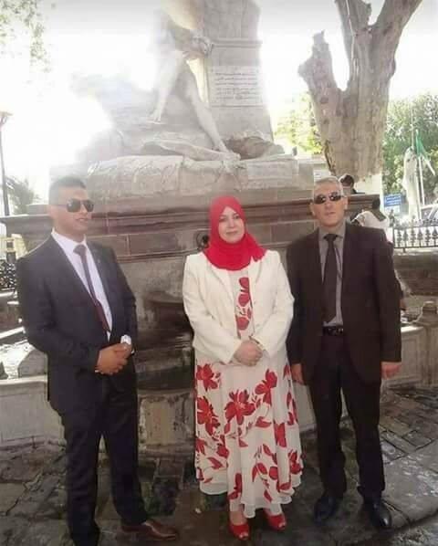 La députée islamiste Naima Salhi