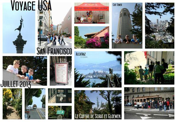 Voyage Road trip USA-Ouest américain juillet 2013 - COIT TOWER - chez Gloewen et Scrat