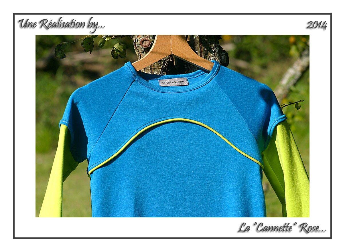 T-Shirt Maison Bleu 03
